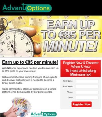 אתר תדמיתי עם שיטה להרוויח כסף